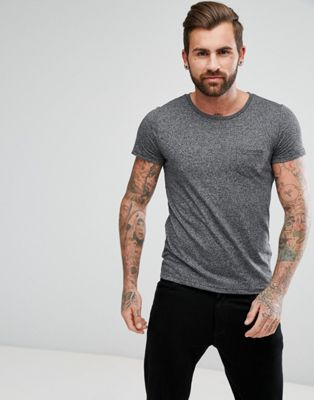 Image 1 of Lee Jeans Salt and Pepper Pocket T-Shirt