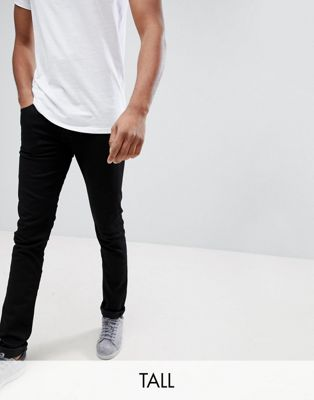 Lee TALL Luke Skinny Jeans in Black