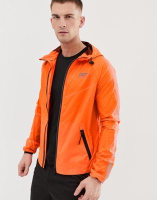 Изображение 1 из Легкая оранжевая куртка Superdry Sport