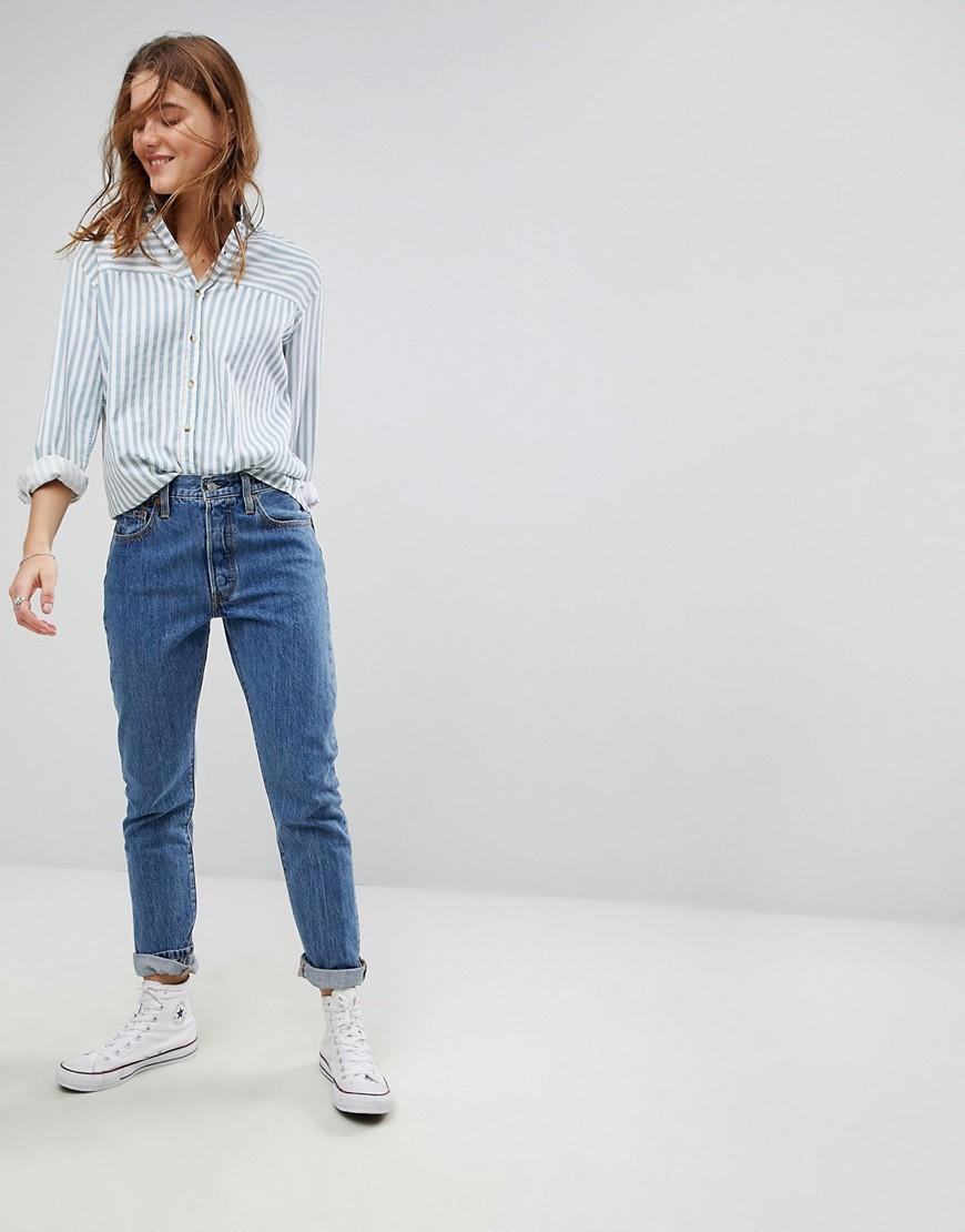 Levi's 501   Jeans Skinny Vita Alta by Asos