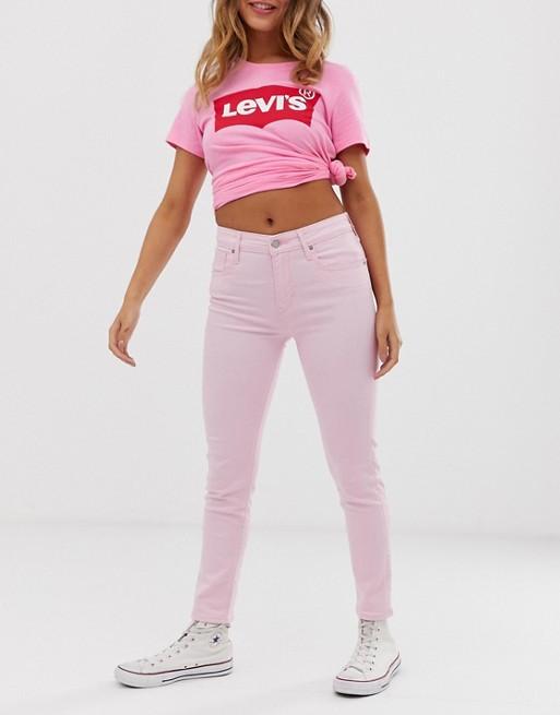 Levi's – 721 – Ankle grazer-jeans med hög midja