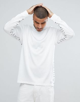 Levi's Line 8 Long Sleeve Logo T-Shirt