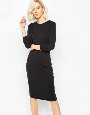 Image 1 of Levi's Line 8 Skinny Fit Midi Dress