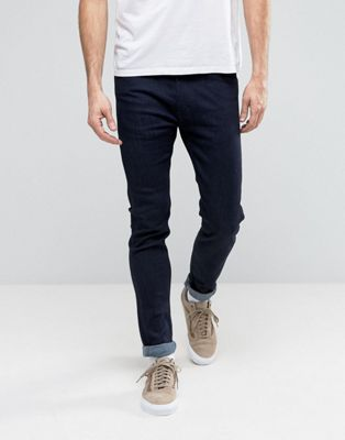 Levis Line 8 Skinny Jeans Indigo Wash Super Stretch