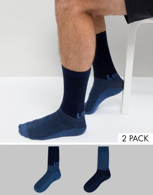 Levis Logo Graphic Socks 2 Pack