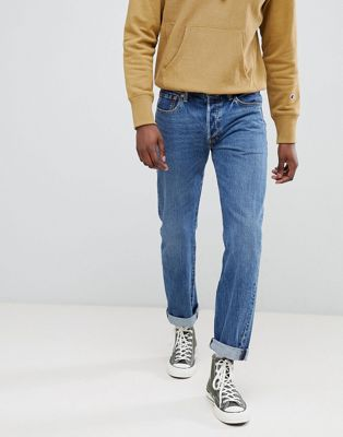 Levi's original 501 straight fit jeans