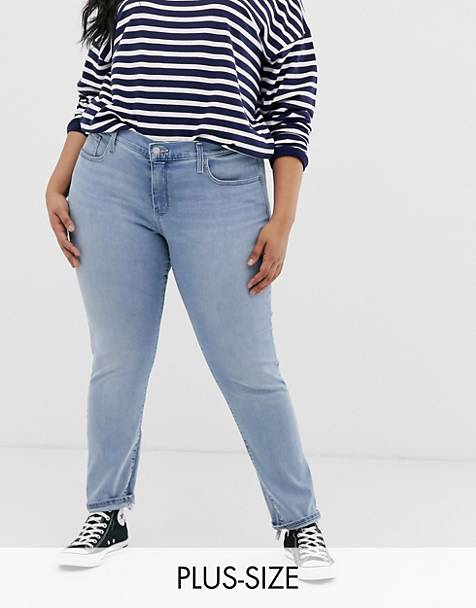 Levi's Plus 311 shaping skinny jean
