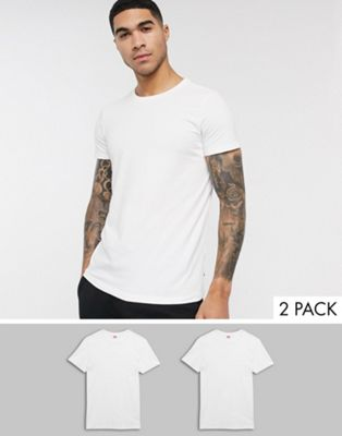 Levi's – T-shirt i regular fit med rundhalsringning 2-pack