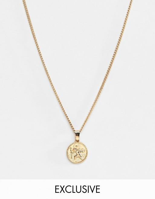 Liars & Lovers – Exklusive Halskette mit Münzanhänger in Gold
