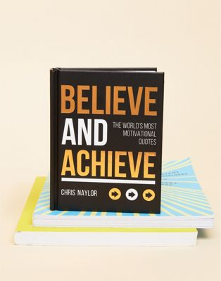 "Libro ""Believe and Achieve"""