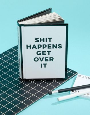 "Libro ""Shit Happens Get Over It"""