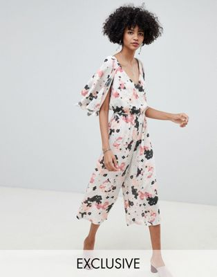 Lily & Lionel exclusive multi star wide leg jumpsuit