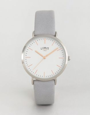 Limit Watch In Grey Exclusive To ASOS