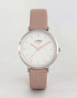 Limit Watch In Pink Exclusive To ASOS
