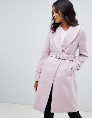Lipsy coat with shawl collar