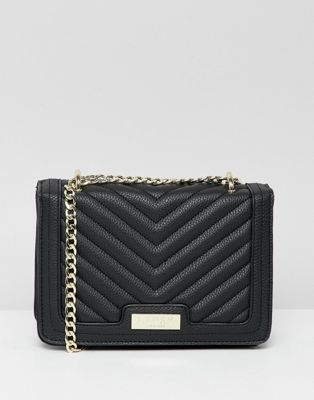 Lipsy quilted multiway cross body in black