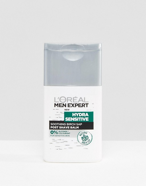 Image 1 of L'Oreal Men Expert Hydra Sensitive Post Shave Balm 125ml