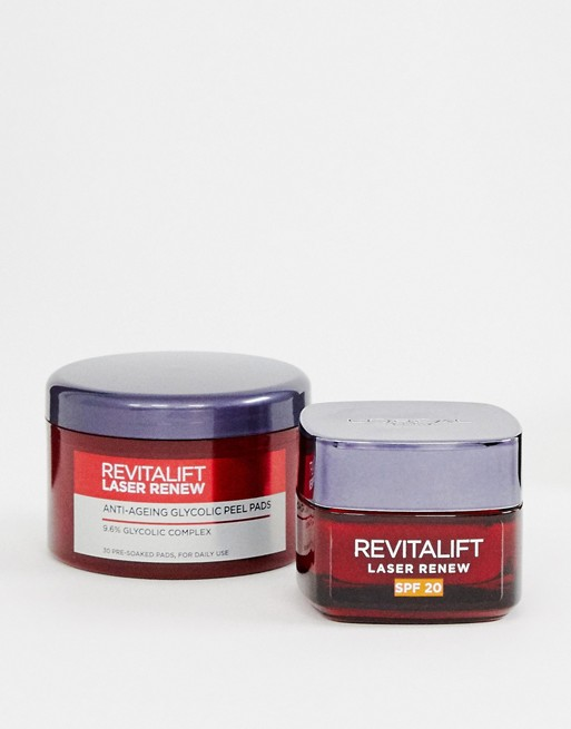 L'Oreal – Paris Revitalift At Home – Peeling-Set, 33% Rabatt