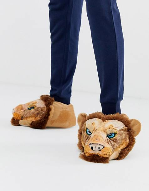 Loungeable - Chaussons forme lion