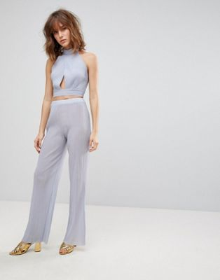 Love Crepe Pleated Pant