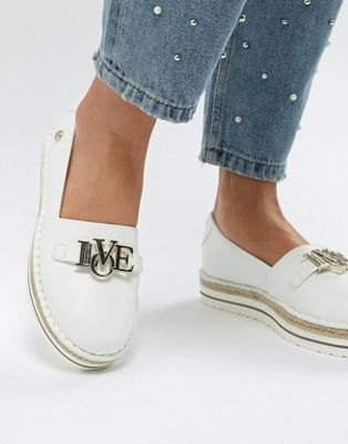 Love Moschino Love Logo Espadrille