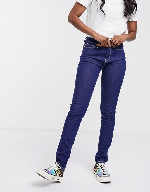 Love Moschino – Start – Skinny jeans med broderad logga