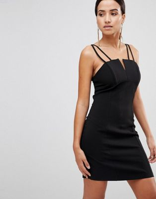 Love Multi Strap Bodice Dress