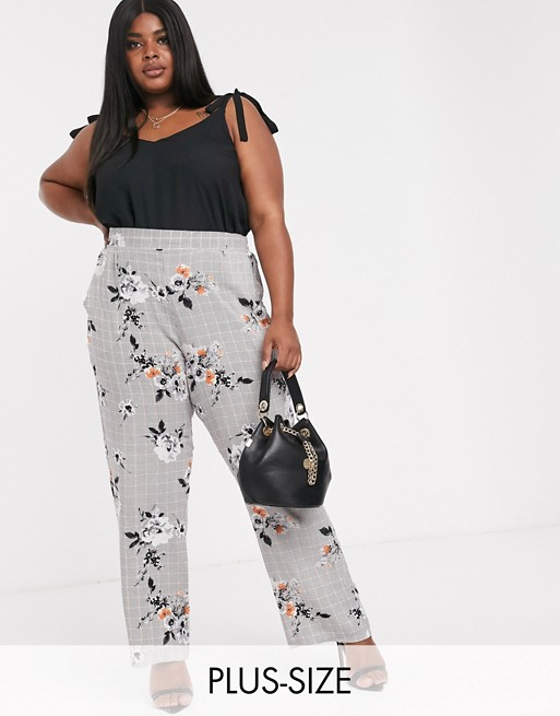 Lovedrobe Check Tailored Trousers
