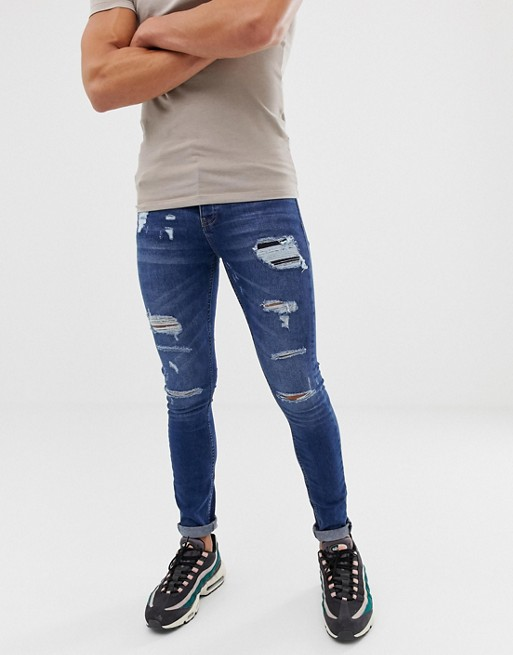 Image 1 of Loyalty and Faith skinny fit jeans in midwash