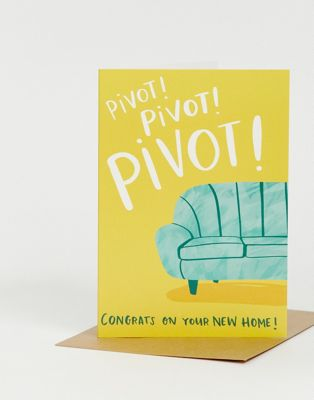 Lucy Maggie - pivot congrats on your new home - Carte