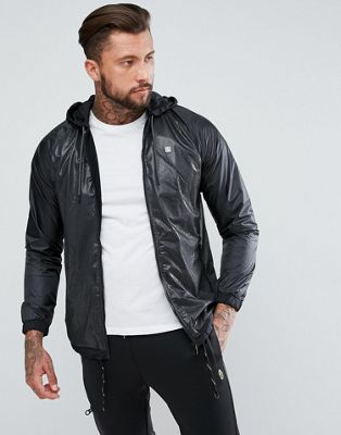 Luke 1977 Capability French Zip Through Netting Jacket in Black