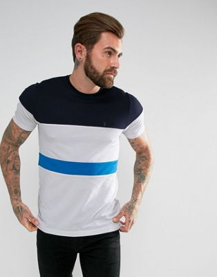 Luke 1977 Cut and Sew Stripe T-shirt