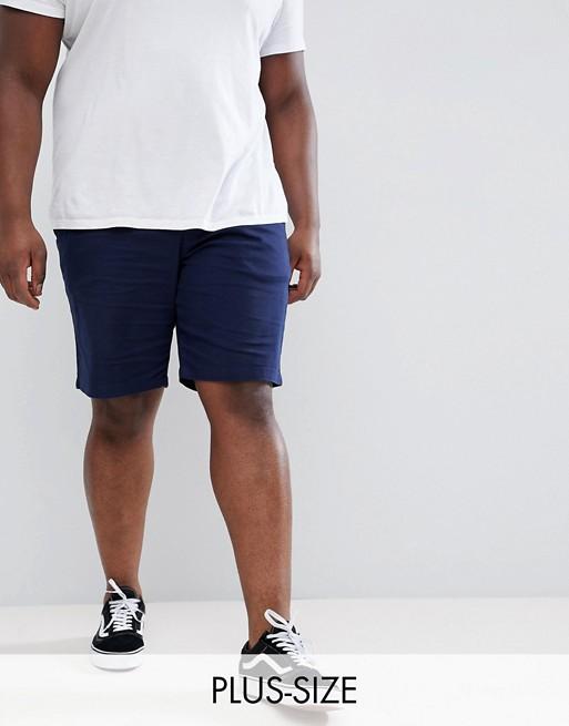 Bild 1 von Lyle & Scott – Marineblaue Chino-Shorts