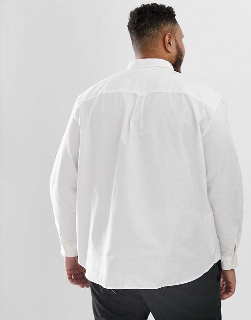 Logo amp; Oxford Buttondown weiß Weißes Scott Hemd mit Lyle xTq0wdA0