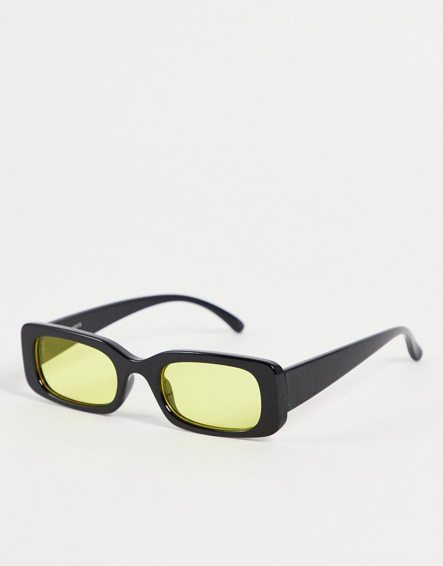 70s collection orange lens sunglasses