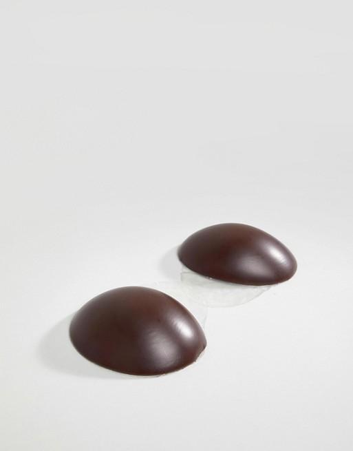 Image 1 sur Magic - Soutien-gorge adhésif sans dos ni bretelles modelant en silicone - Chair foncé