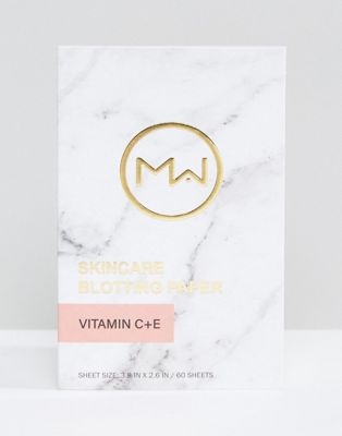 Mai Couture Blotting Paper Vitamin C & E (60 Sheets)