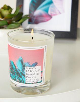 Maison La Bougie – Palm Tree – Kerze, grüner Tee, 190 g