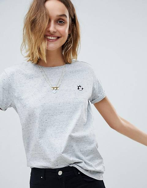 Maison Scotch Felix Ams Blaur Collab Emblem T-Shirt