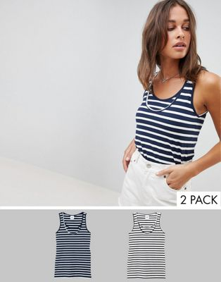 Mamalicious mix 2 pack nursing tank top