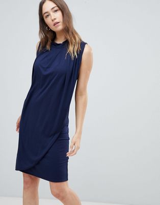 Mamalicious nursing drape front dress
