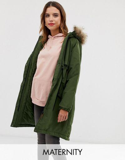 Mamalicious parka coat