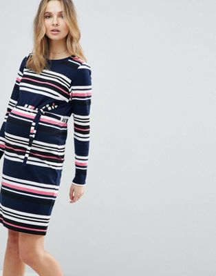 Mamalicious Striped Jersey Dress