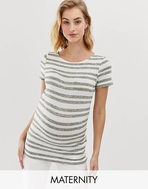 Mamalicious - T-shirt à rayures