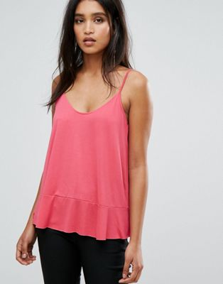 Mango Scoop Front Cami Top