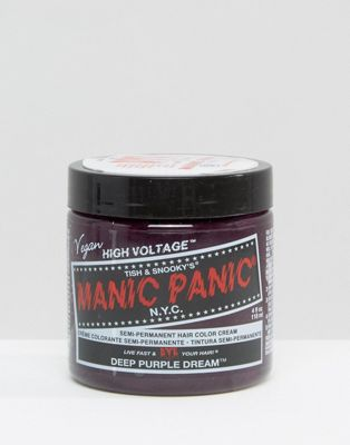 Manic Panic NYC Classic Semi Permanent Hair Colour Cream - Deep Purple Dream