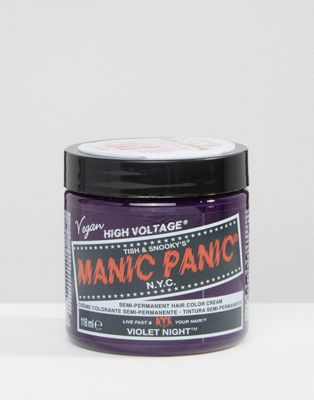 Manic Panic NYC Classic Semi Permanent Hair Colour Cream - Violet Night