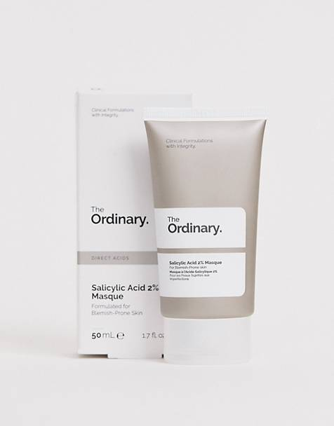 Mascarilla de ácido salicílico al 2% de The Ordinary