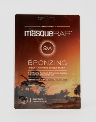 MasqueBAR Bio Cellulose Tanning Sheet Mask
