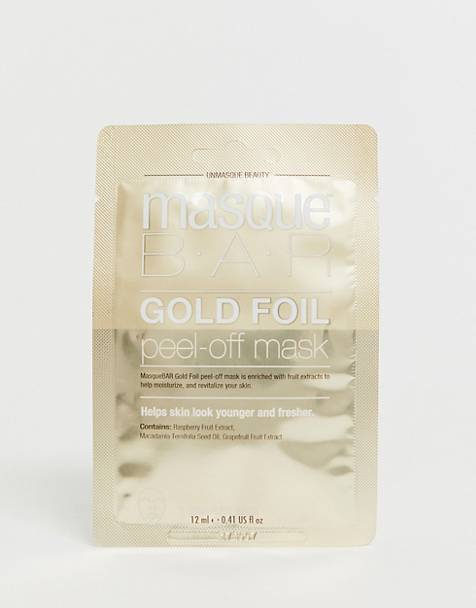 MasqueBAR Gold Peel Off Brightening Mask